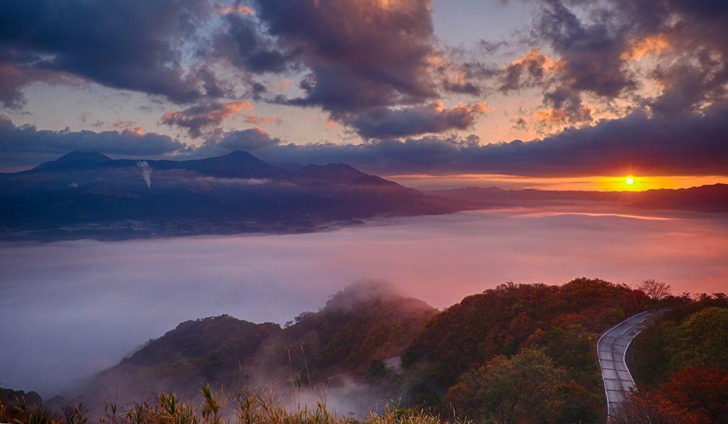 kumamoto travel Tawarayama Lookout
