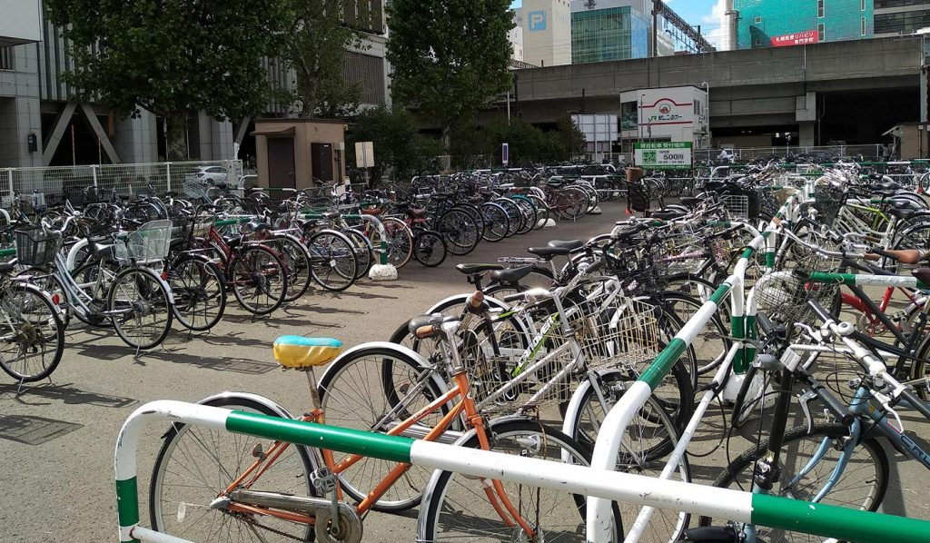 Cycling in Japan Parking