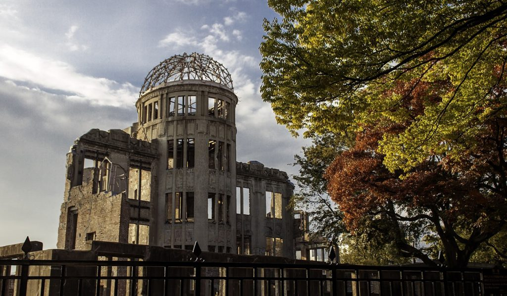 Dark Tourism Japan Atomic bomb dome