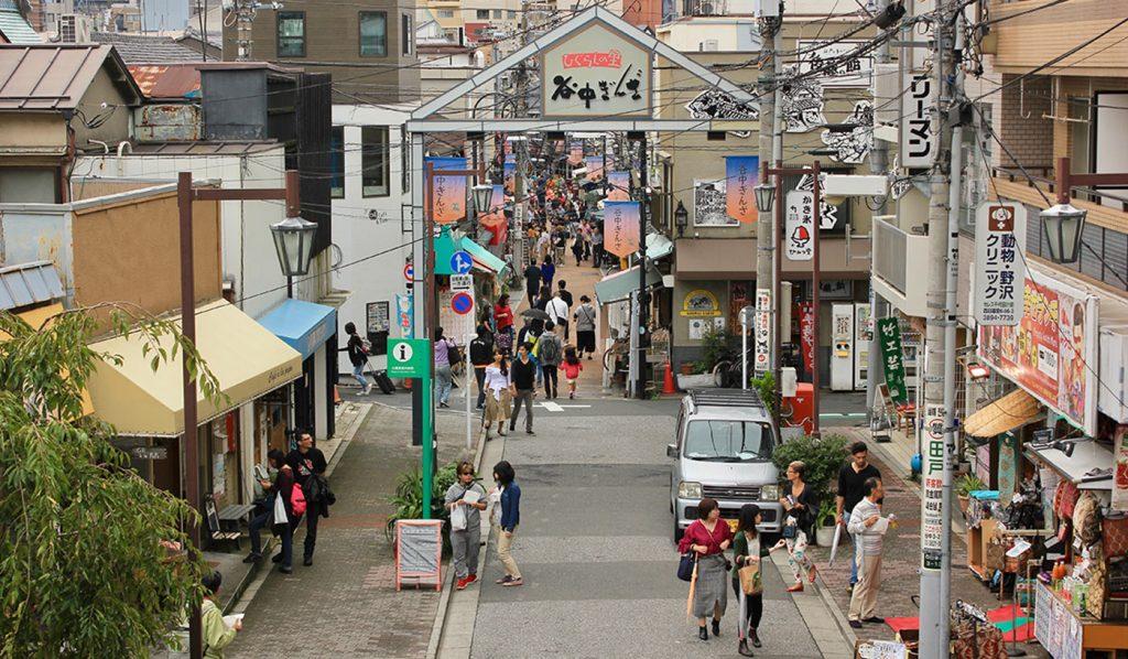Yanesen Tokyo Ginza Street