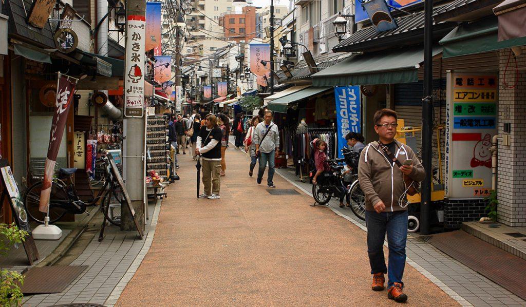 Yanesen Tokyo Yanaka Ginza Street