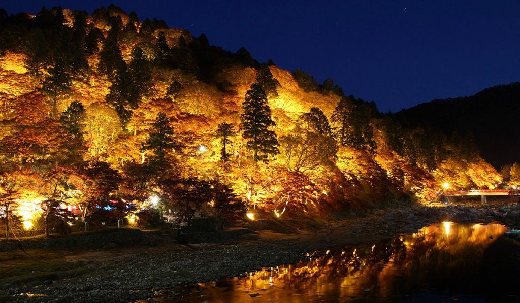 Korankei Valley Aichi prefecture