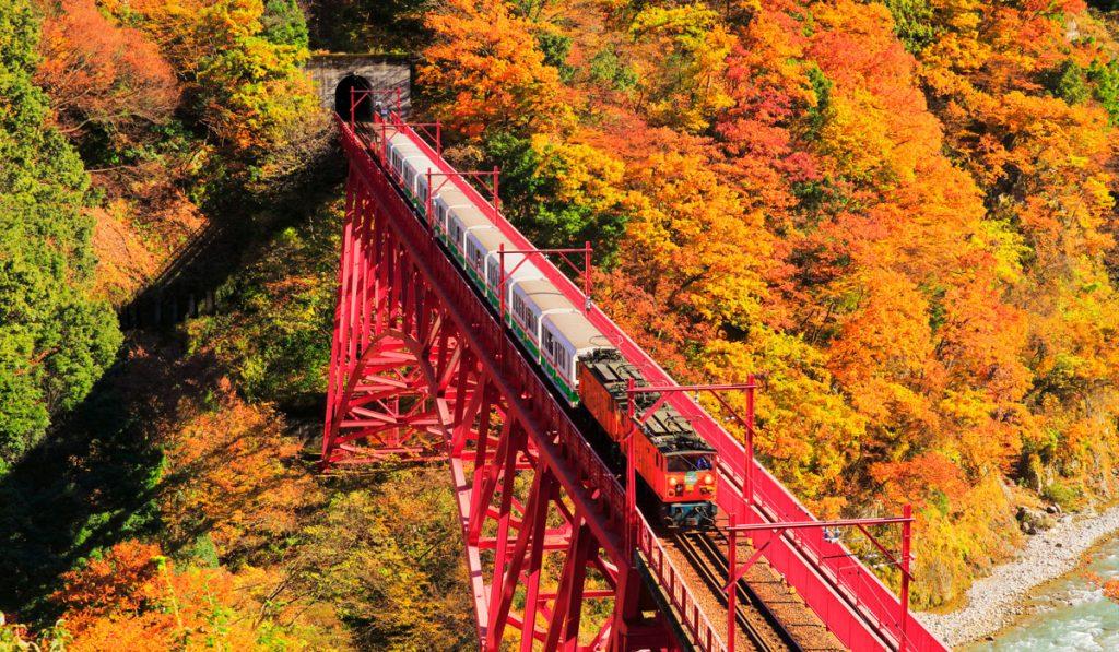 Kurobe Gorge Toyama prefecture