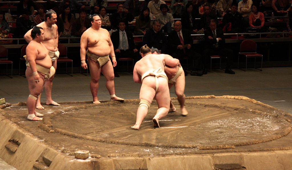 Things to do in Tokyo for free 13 Sumo practices