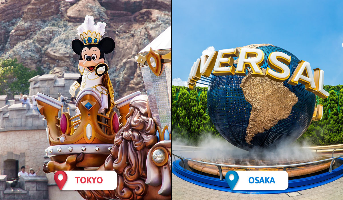 Tokyo vs Osaka Activities and Entertainment