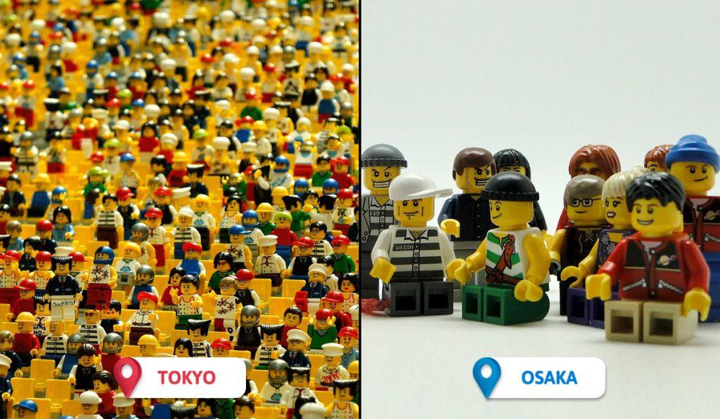 Tokyo vs Osaka Expat Communities