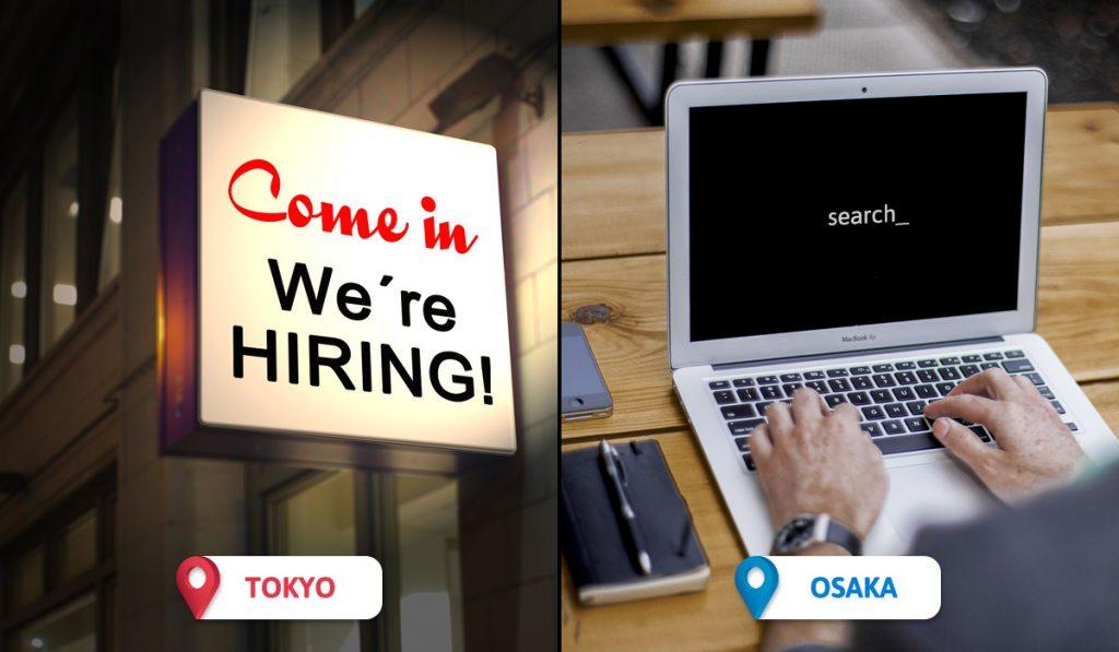 Tokyo vs Osaka Jobs for Foreigners