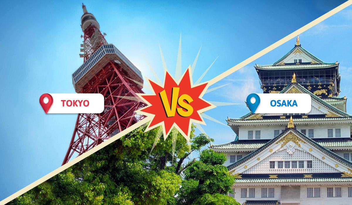 Tokyo vs Osaka image 2