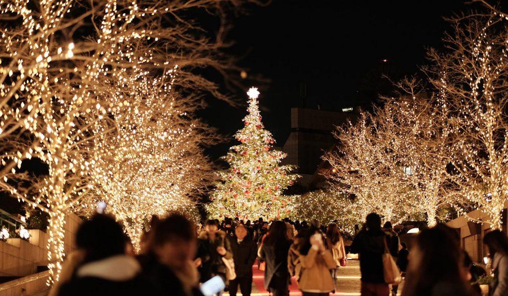 Tokyo Illumination Yebisu Garden Place Winter
