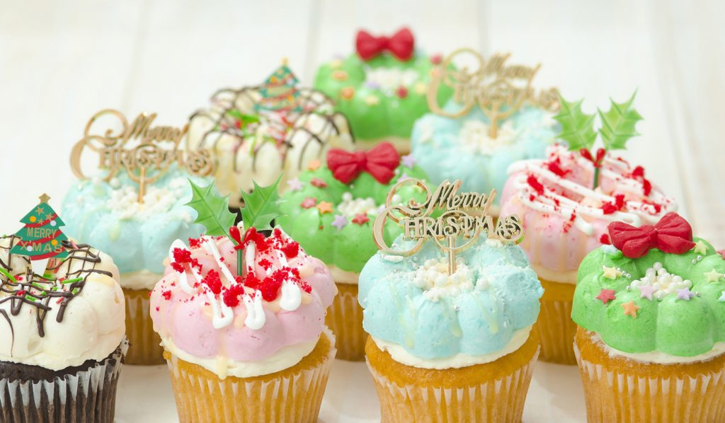 Christmas limited edition Japan Cupcakes