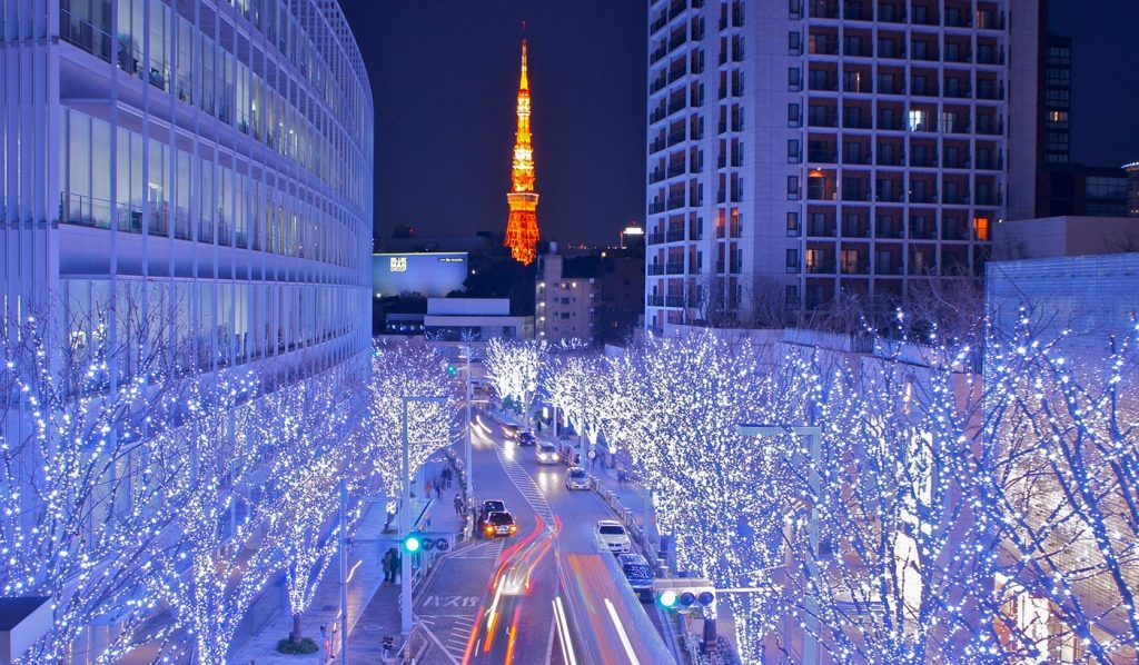 Tokyo Illumination Roppongi Christmas