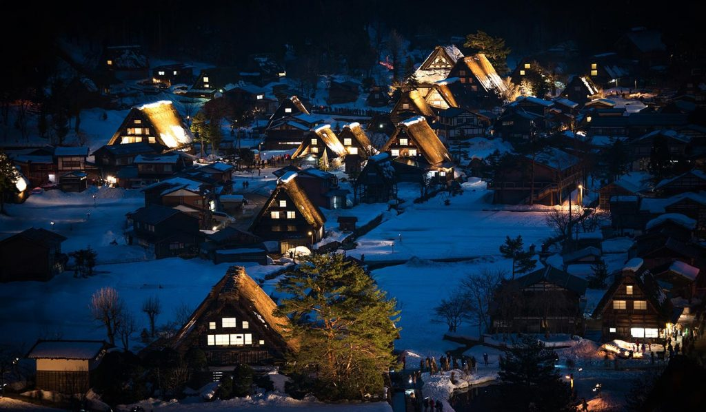 Shirakawa-go Night