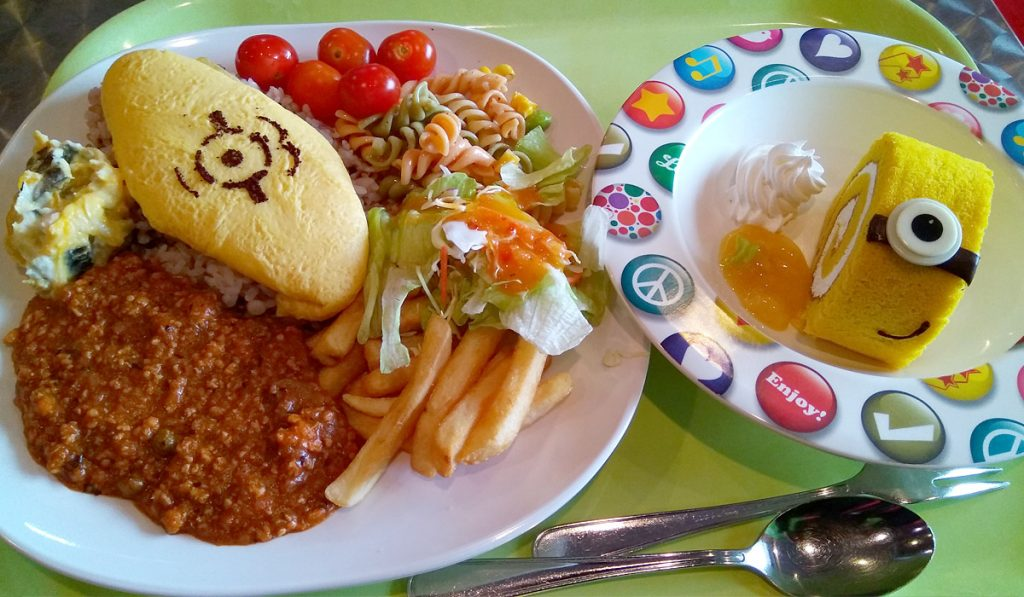 Happiness Cafe Universal Studios Japan Tips