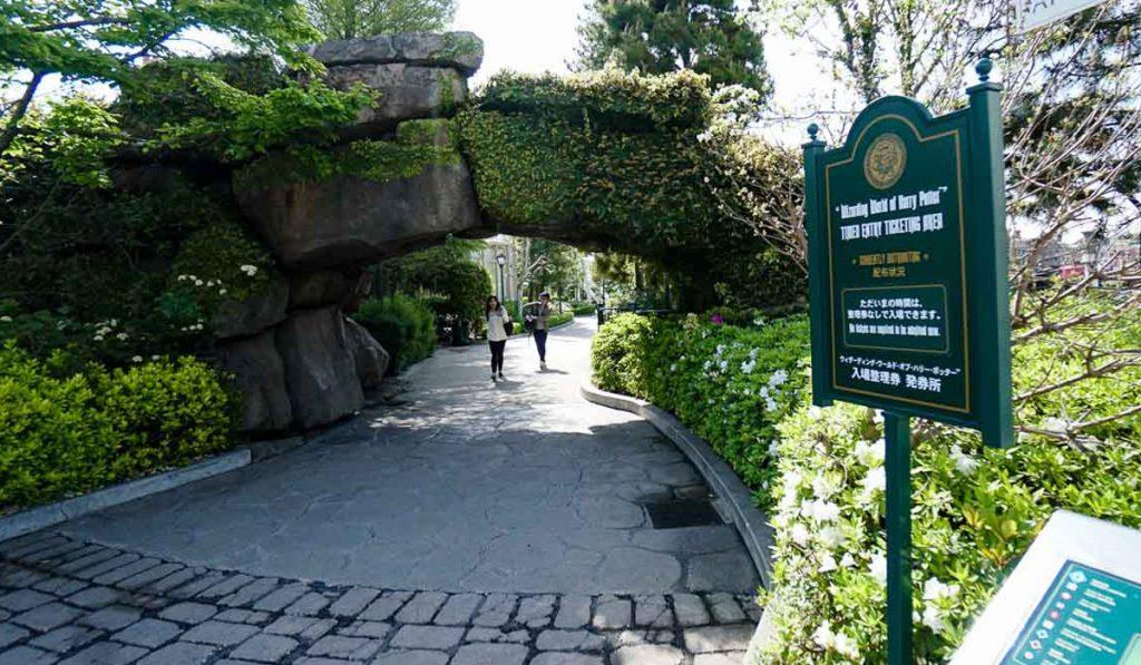 Timed Entry ticket Universal Studios Japan Tips