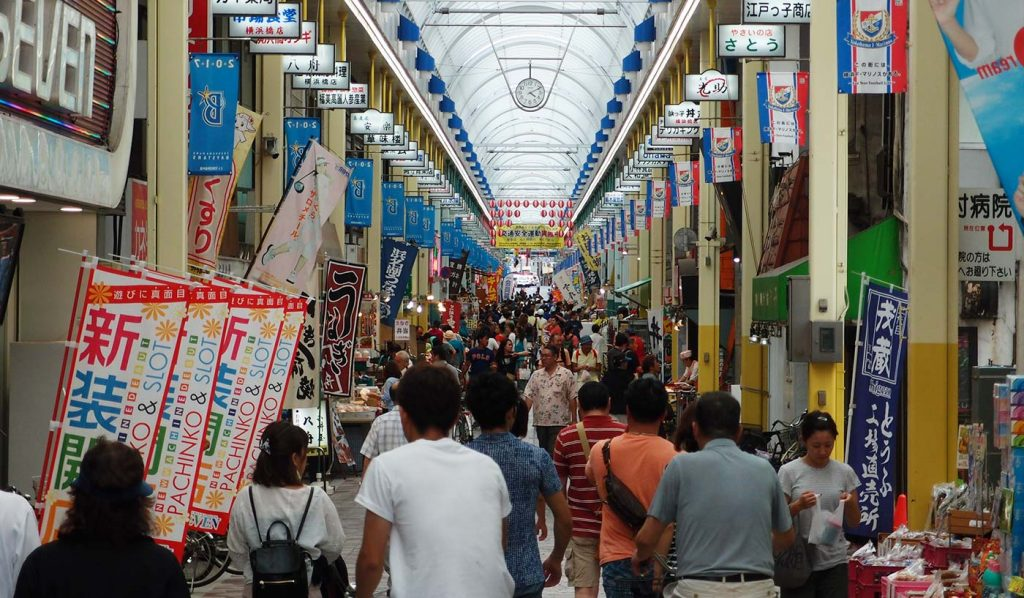 Things to do in Yokohama Bashi Shotengai