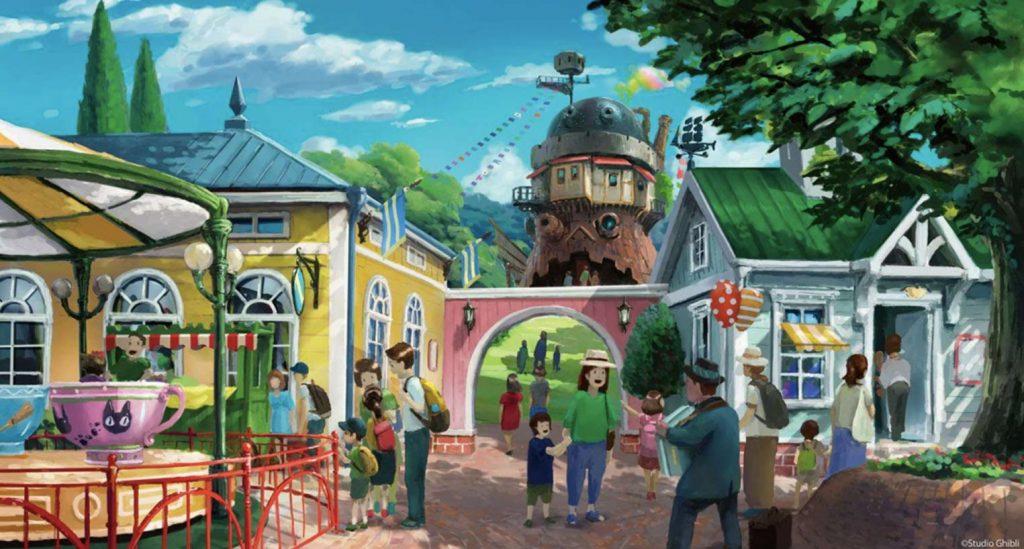 Ghibli Amusement Park Majo no Tani
