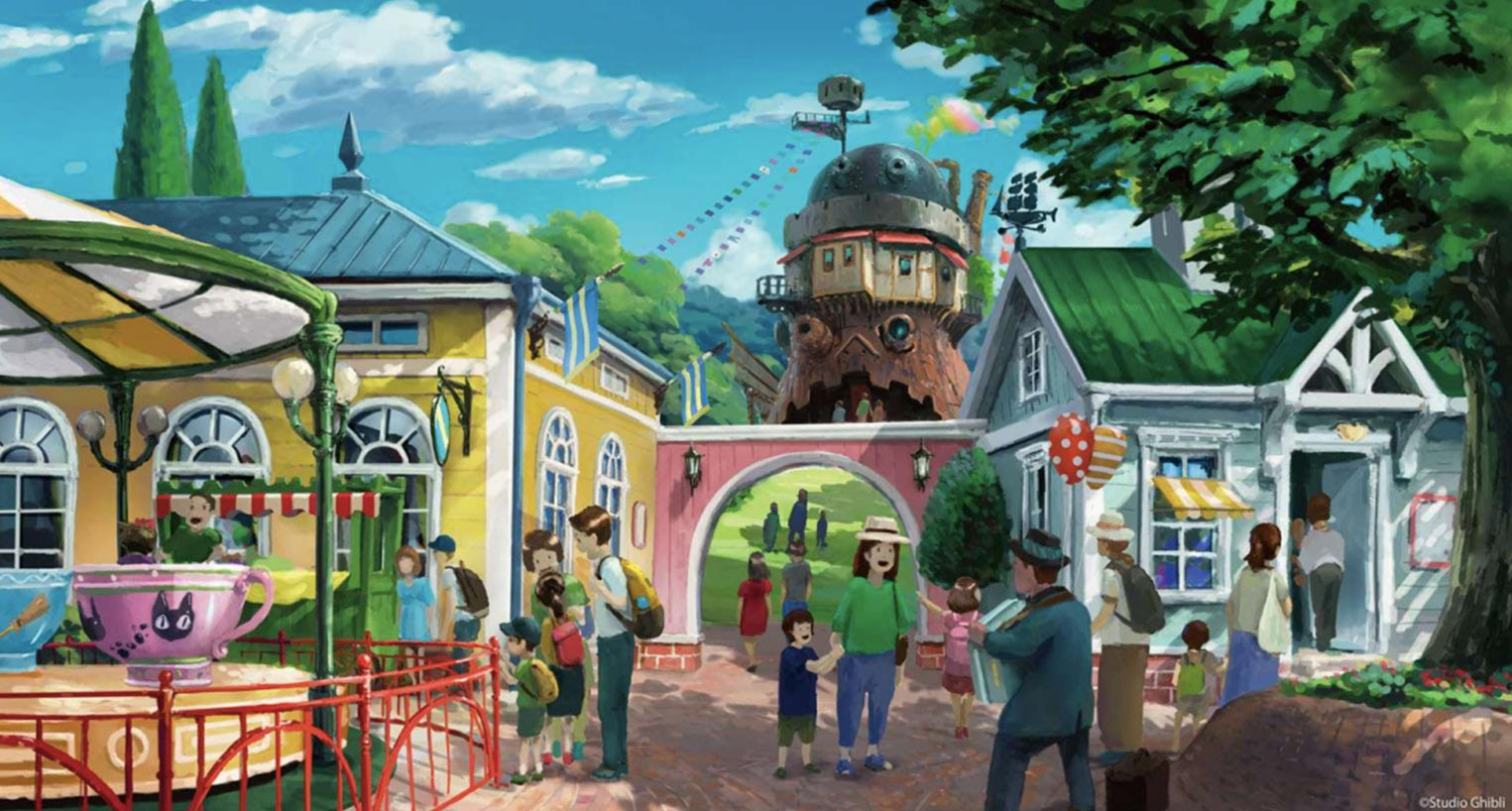 Studio Ghibli Amusement Park is coming in 2022