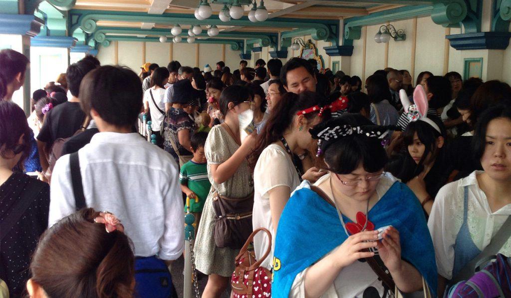 Arriving Late tokyo disneyland