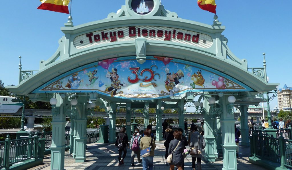 Buying your tickets at the park tokyo disneyland