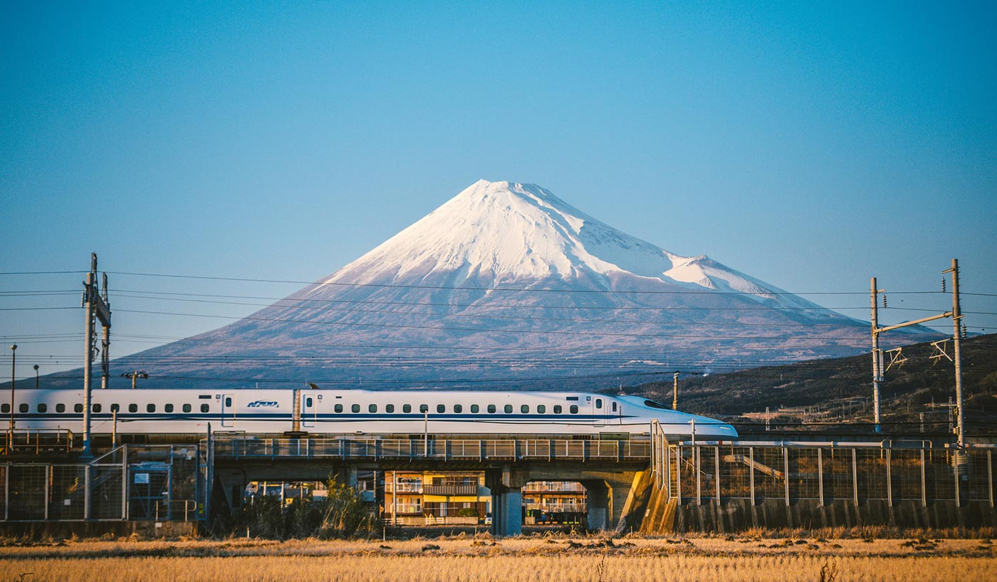 This Train Will Take You Directly from Tokyo to Mount Fuji