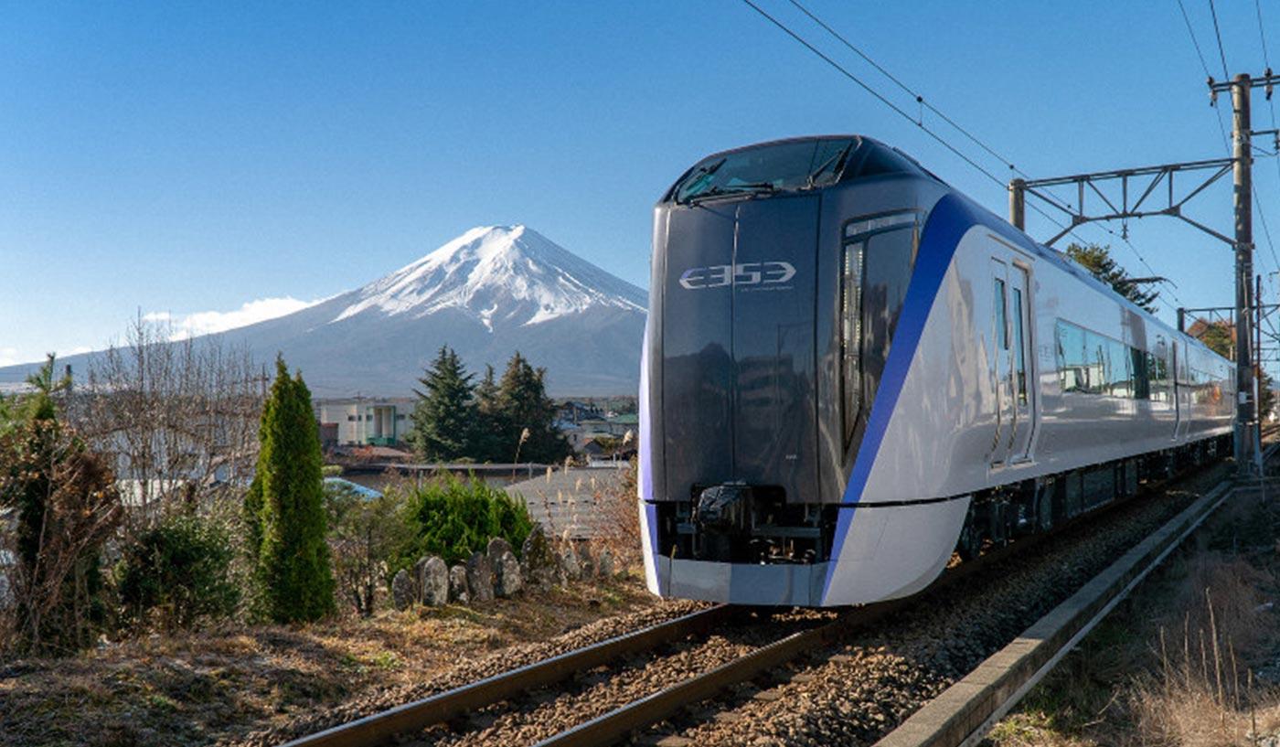 Tokyo to Mount Fuji Train
