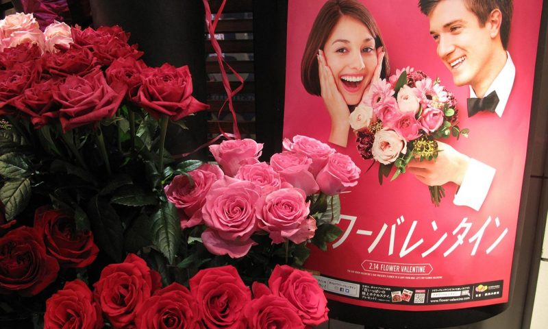 Valentine's day Japan Flower