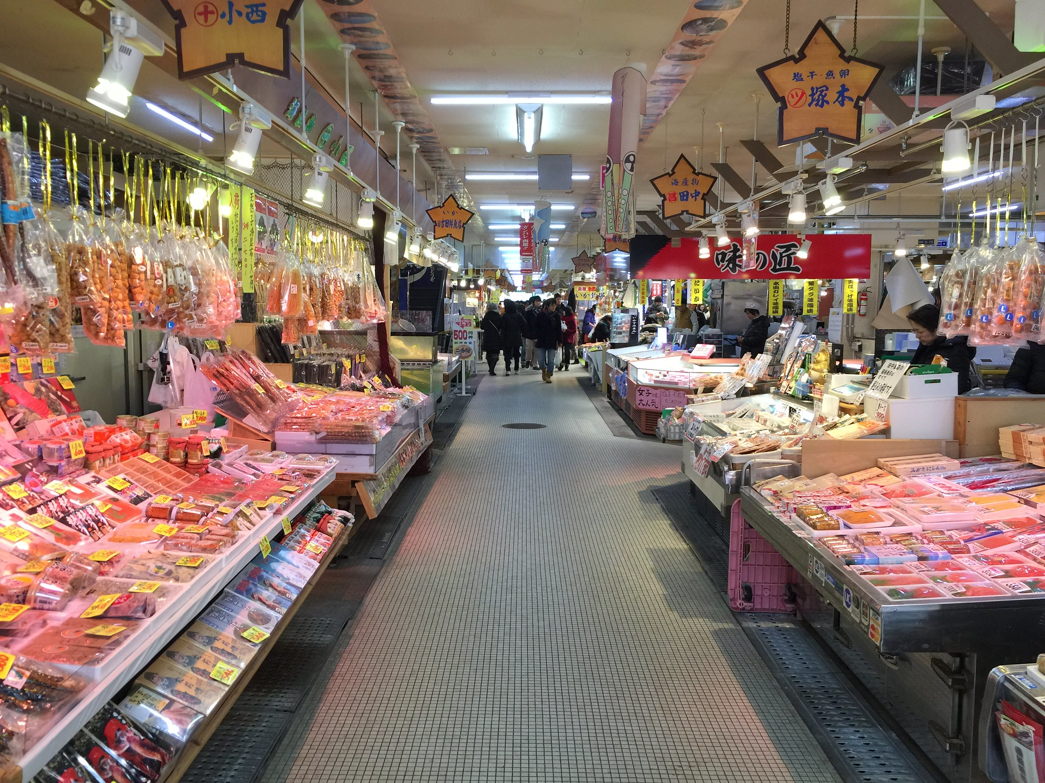 things to do in hakodate - morning market