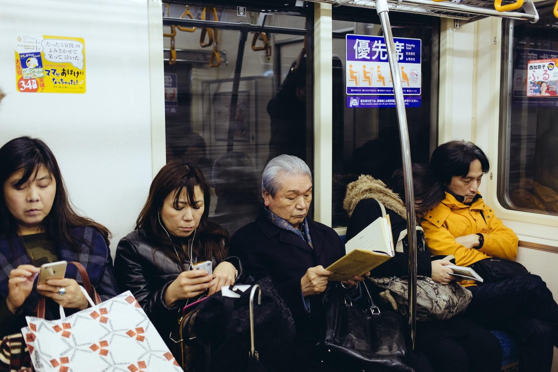 Train Etiquette in Japan
