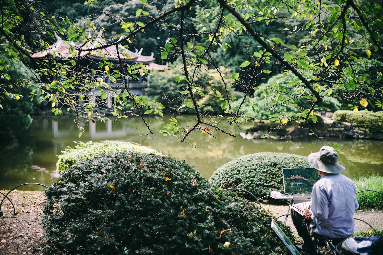 things to do tokyo with kids - shinjuku gyoen