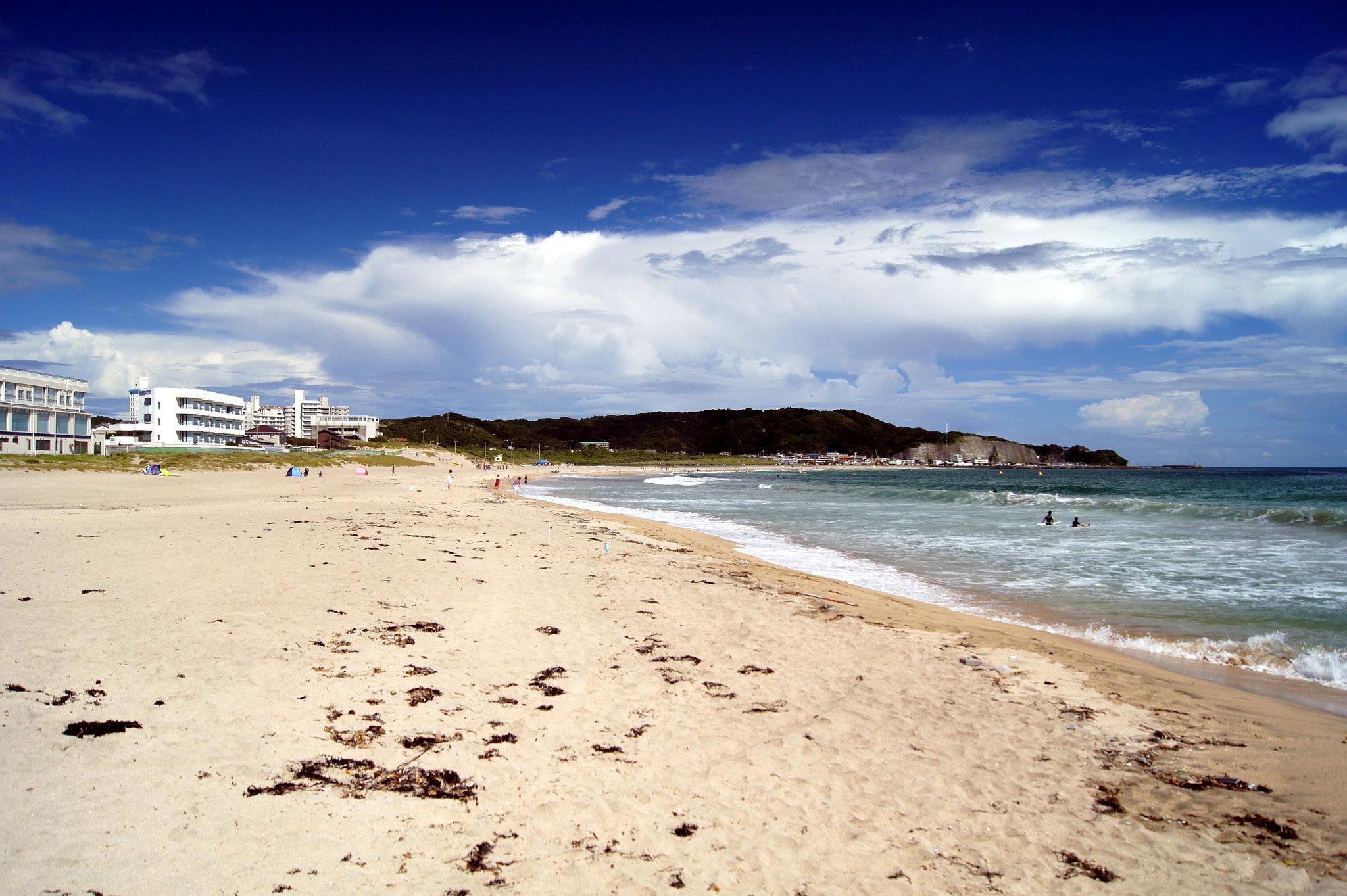 best beaches near tokyo - onjuku beach