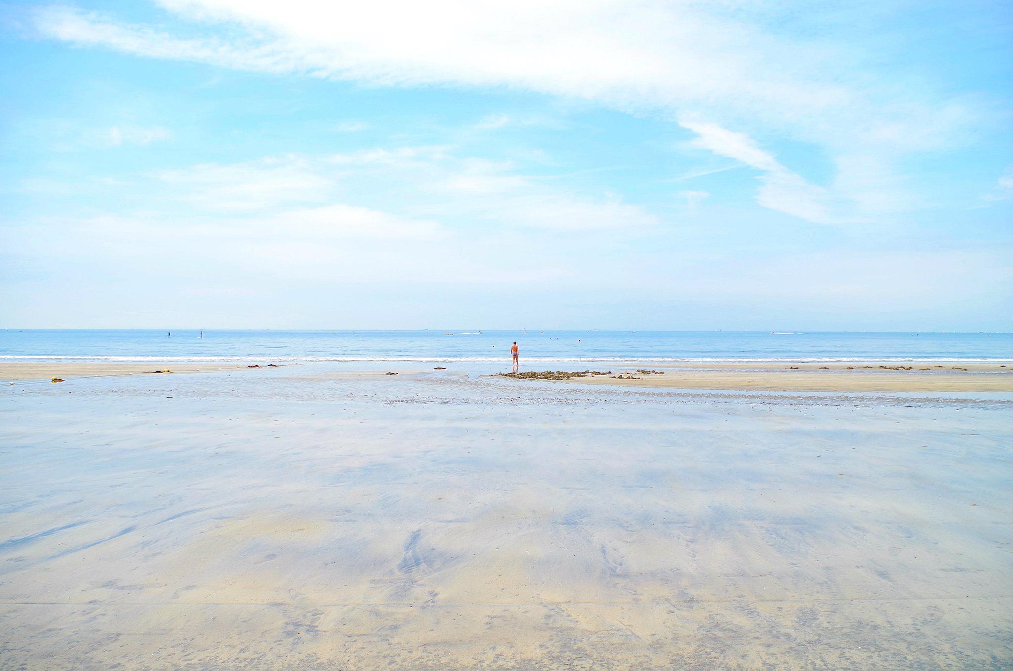 best beaches near tokyo - yuigahama beach