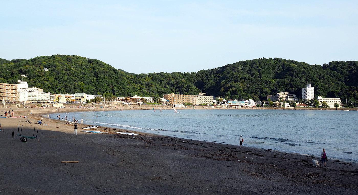 best beaches near tokyo - zushi beach