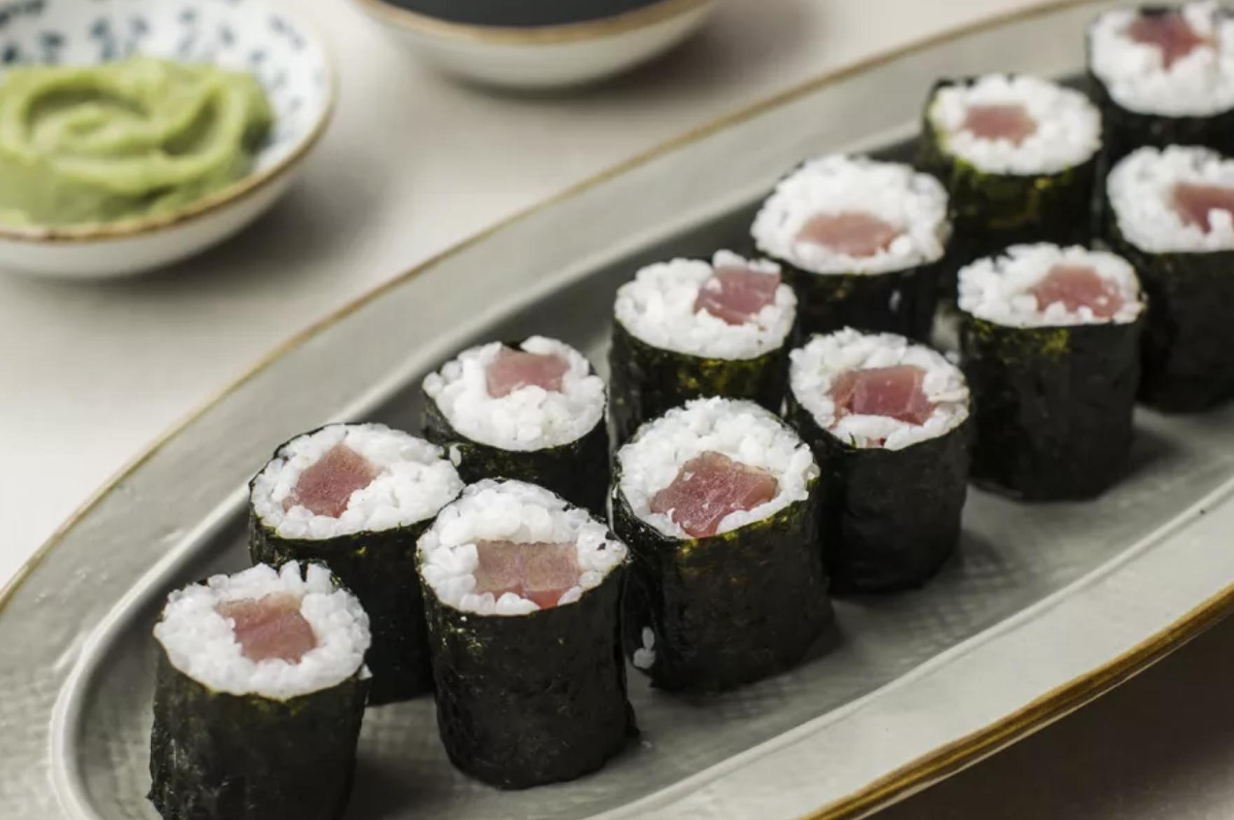 1. Tuna Sushi Roll (Tekka Maki)