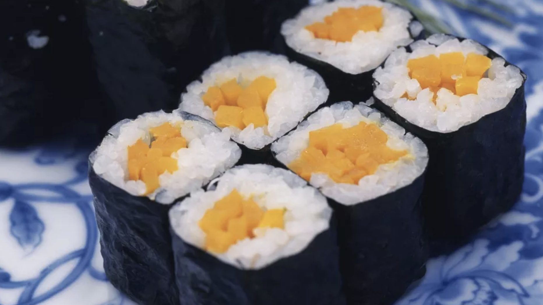 8. Pickled Daikon Sushi Roll (Oshiko Maki)