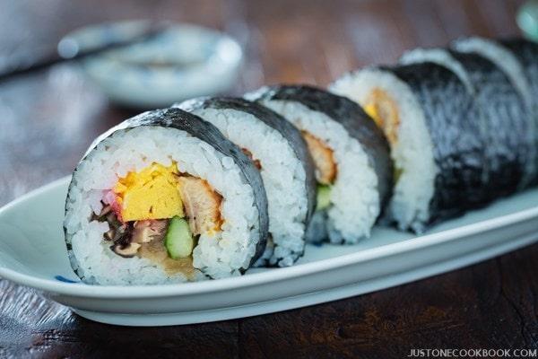 9. Futomaki Sushi Rolls