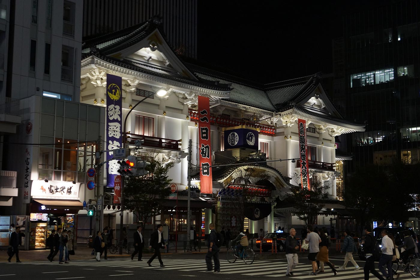 Things to do in Tokyo at night Kabuki-za