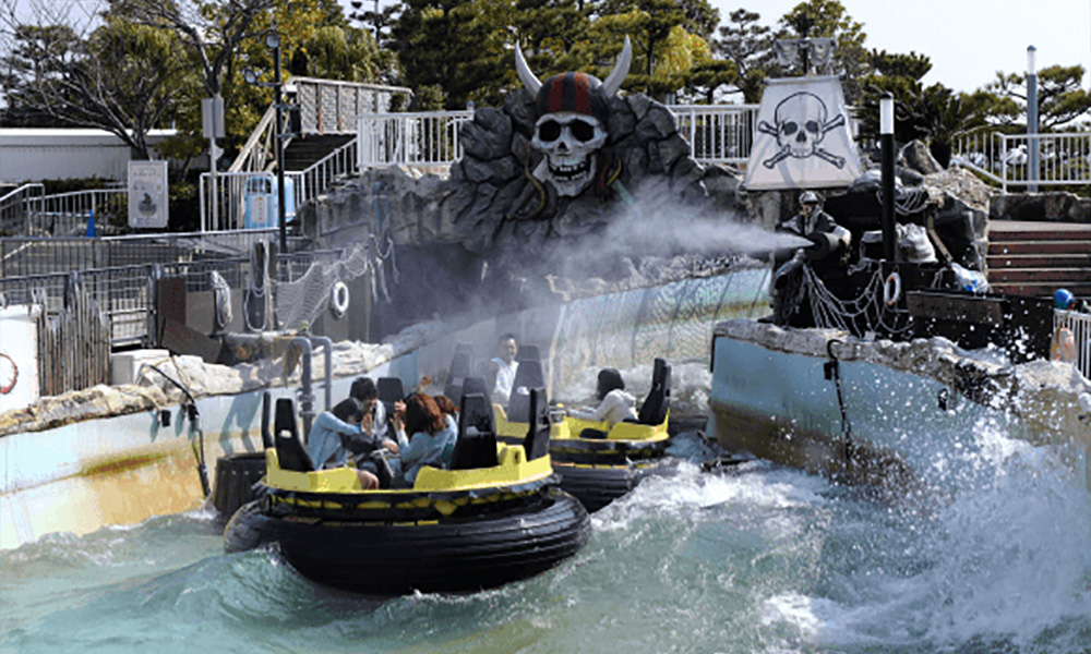 best amusement park japan sea paradise