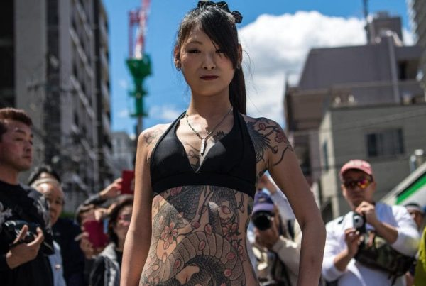 tattoos travel japan