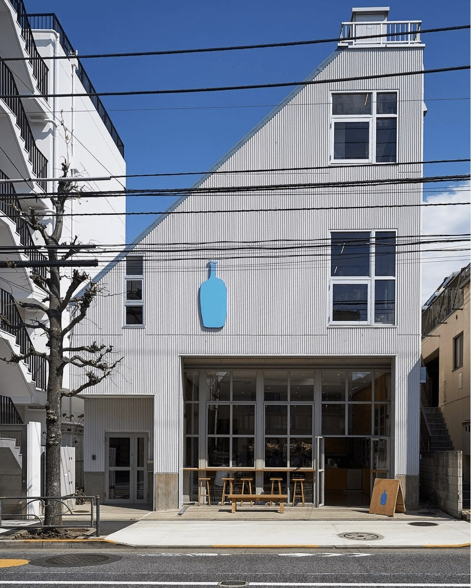 best coffee shop tokyo - Blue Bottle Coffee
