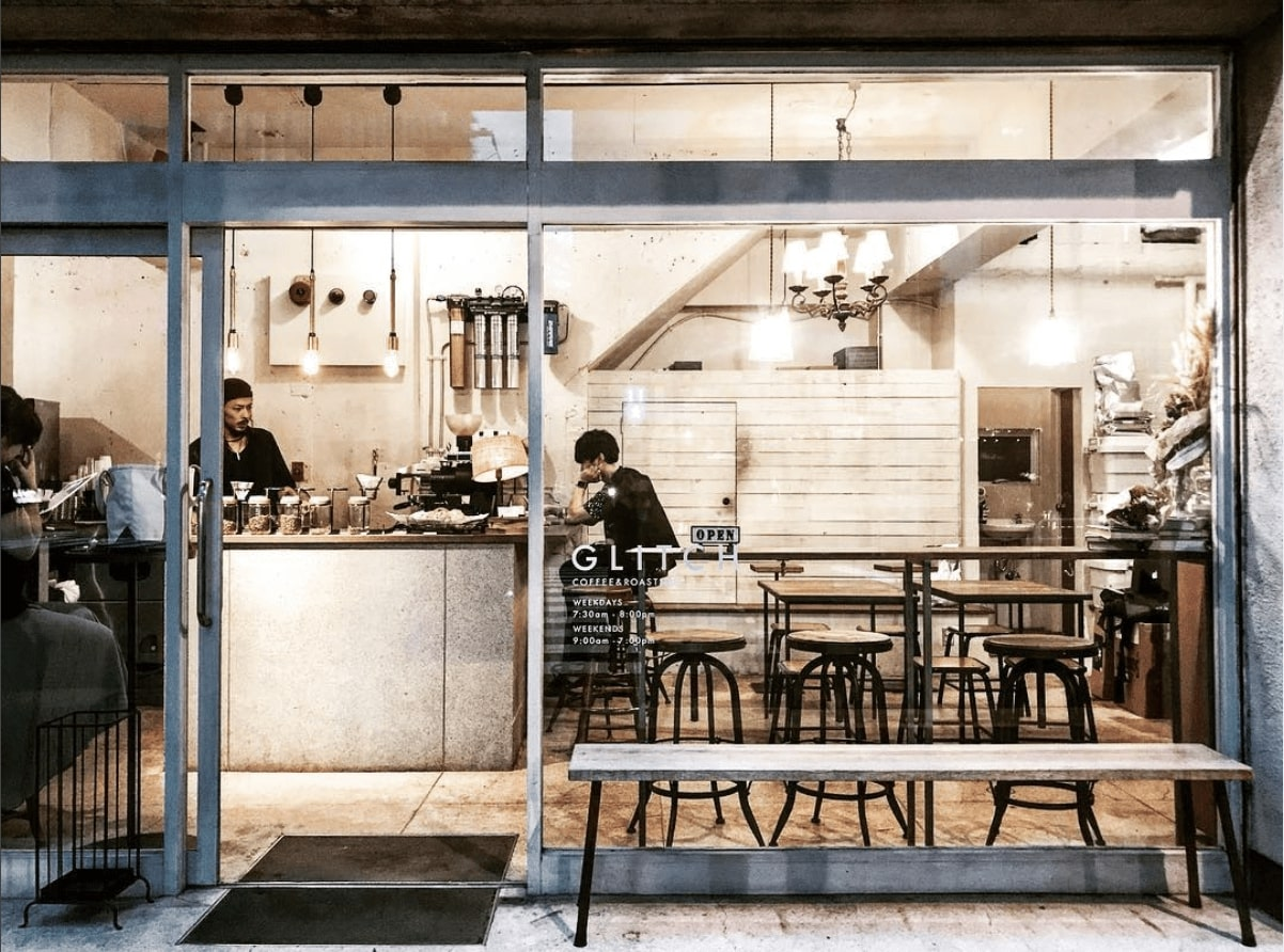 best coffee shop tokyo - Glitch Coffee & Roasters