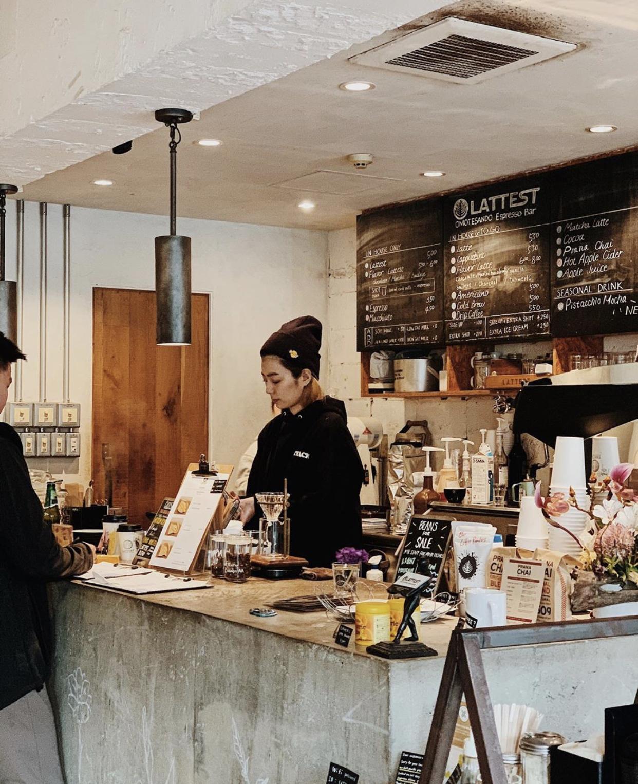 best coffee shop tokyo - Lattest Omotesando Espresso Bar