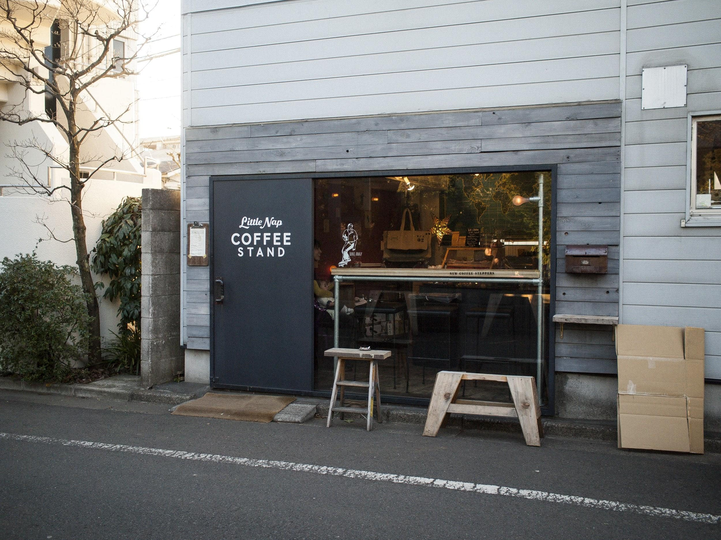 best coffee shop tokyo - Little Nap Coffee Stand