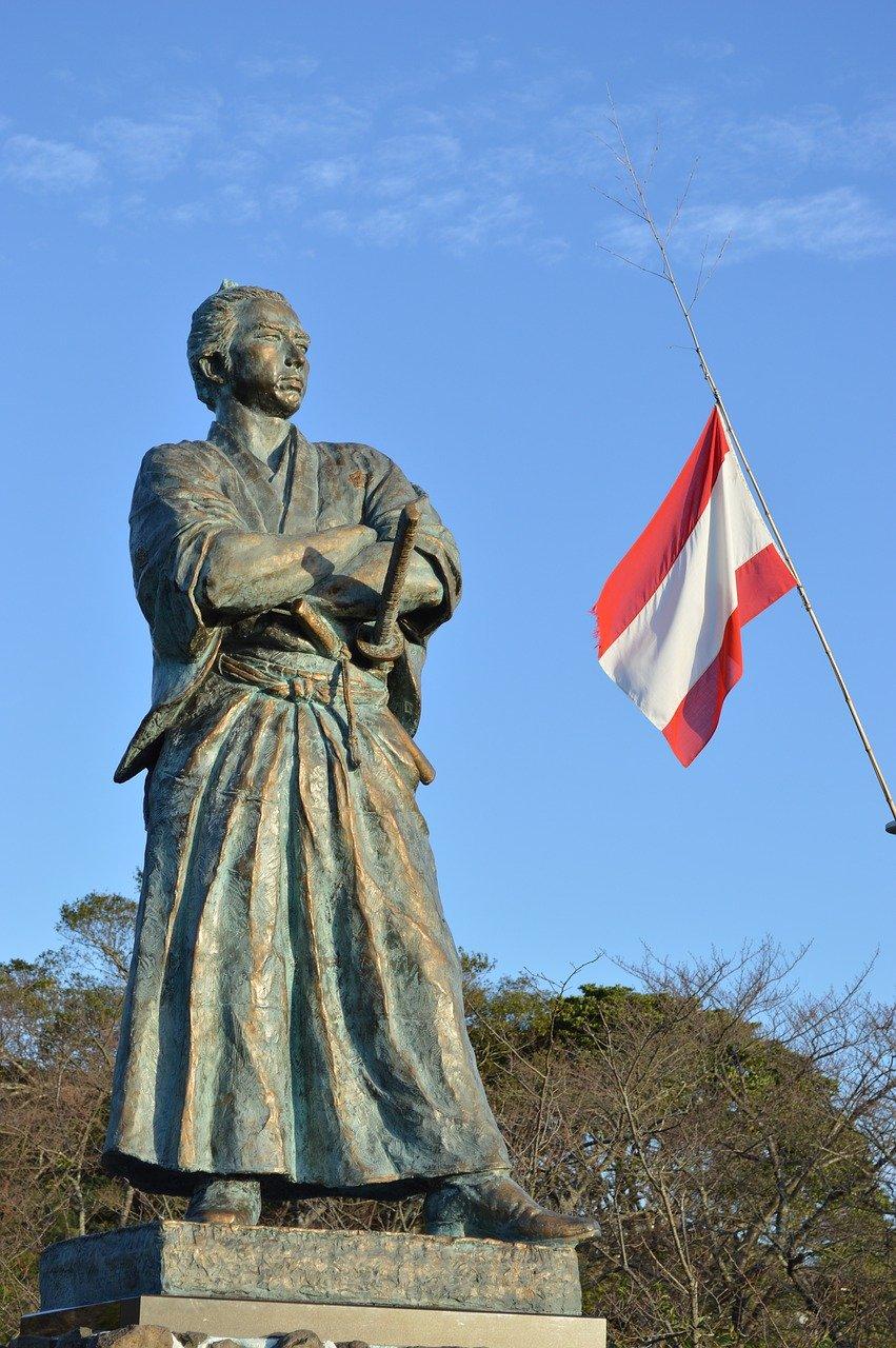 japanese historical figures - Sakamoto Ryoma