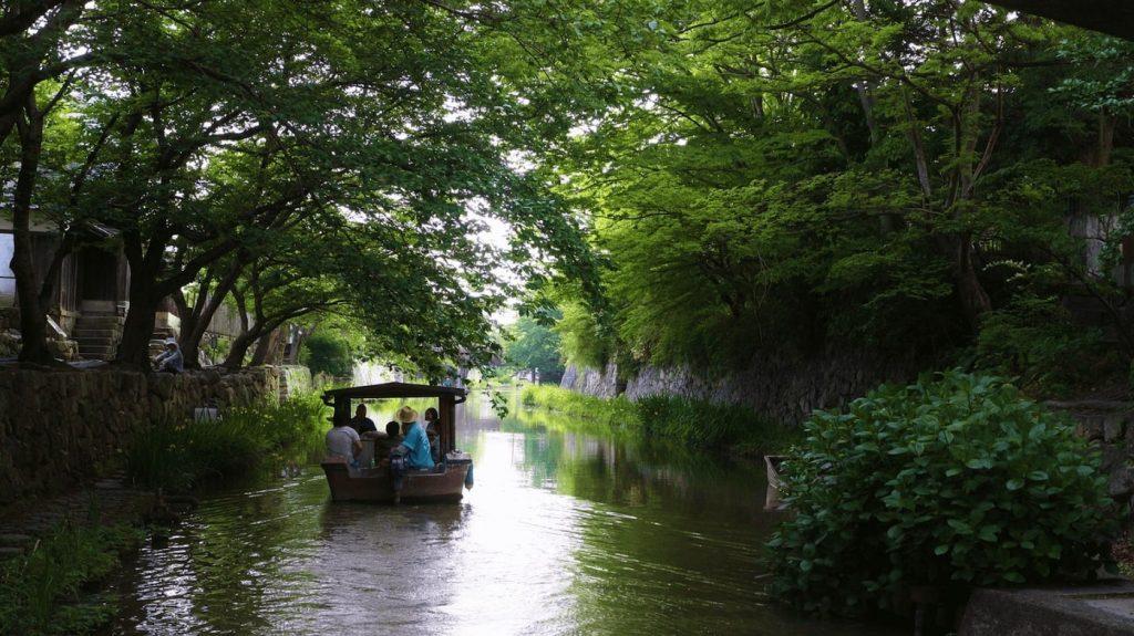 Ōmi Hachiman Hachiman-bori Canal