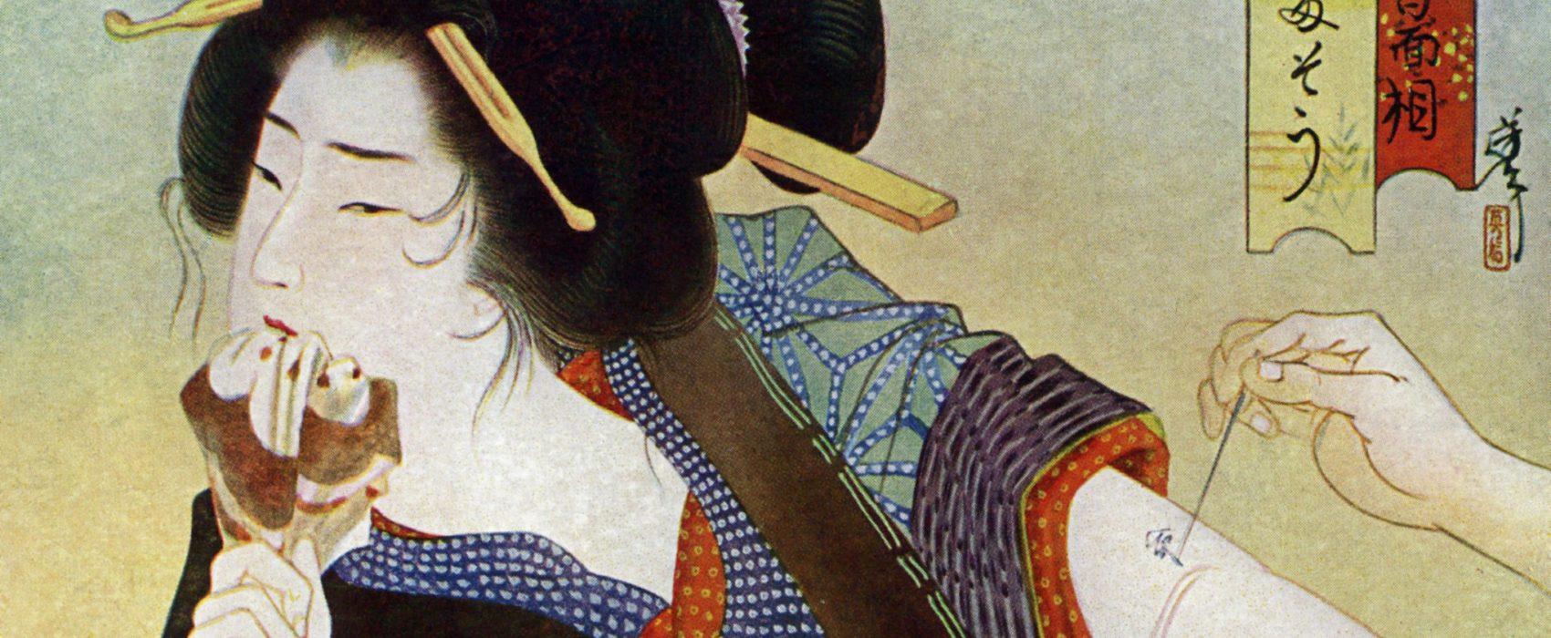 tattoos edo period japan