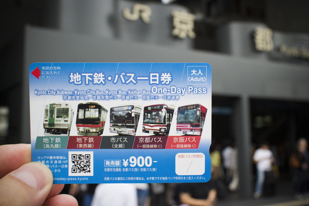 Kyoto Subway and Bus One-day pass
