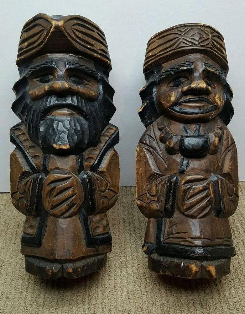 ainu-wood-carving