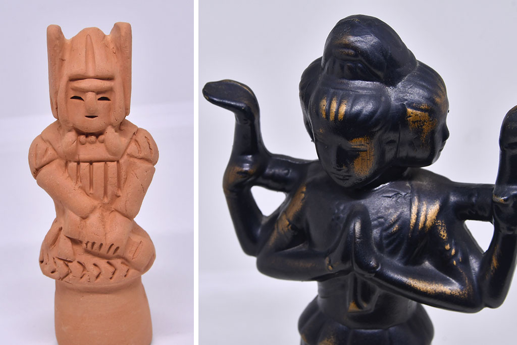 Japanese Art Sculptures Replica Souvenirs