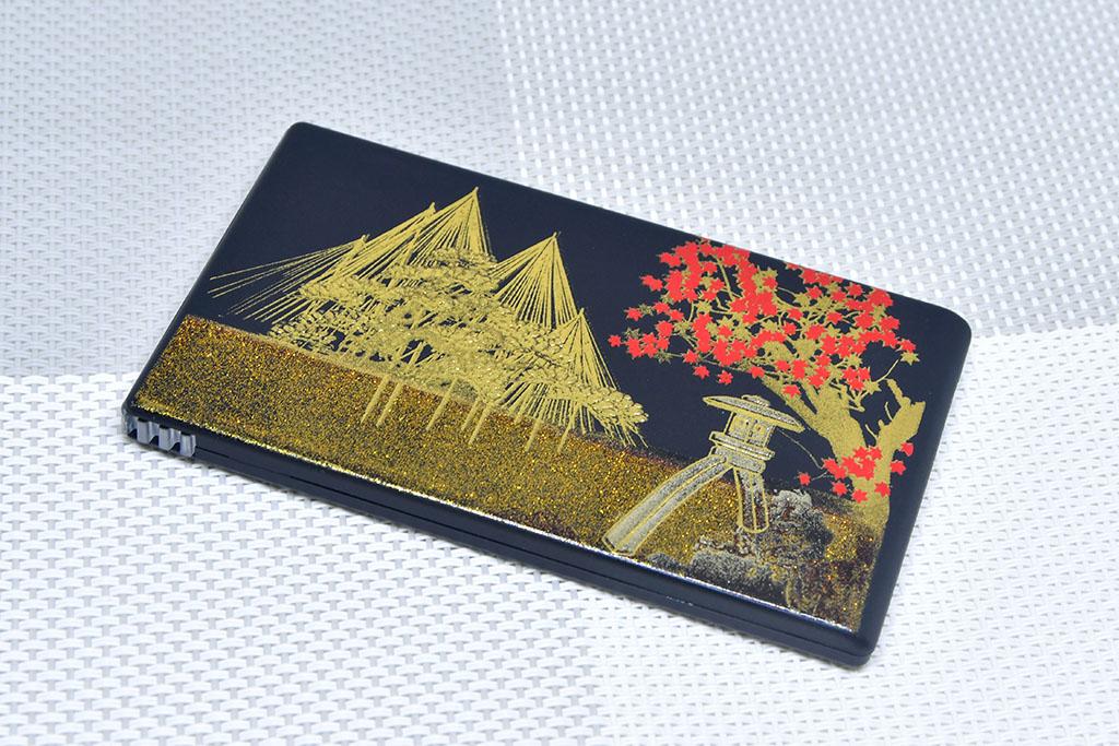 Kanazawa gold leaf slide viewer