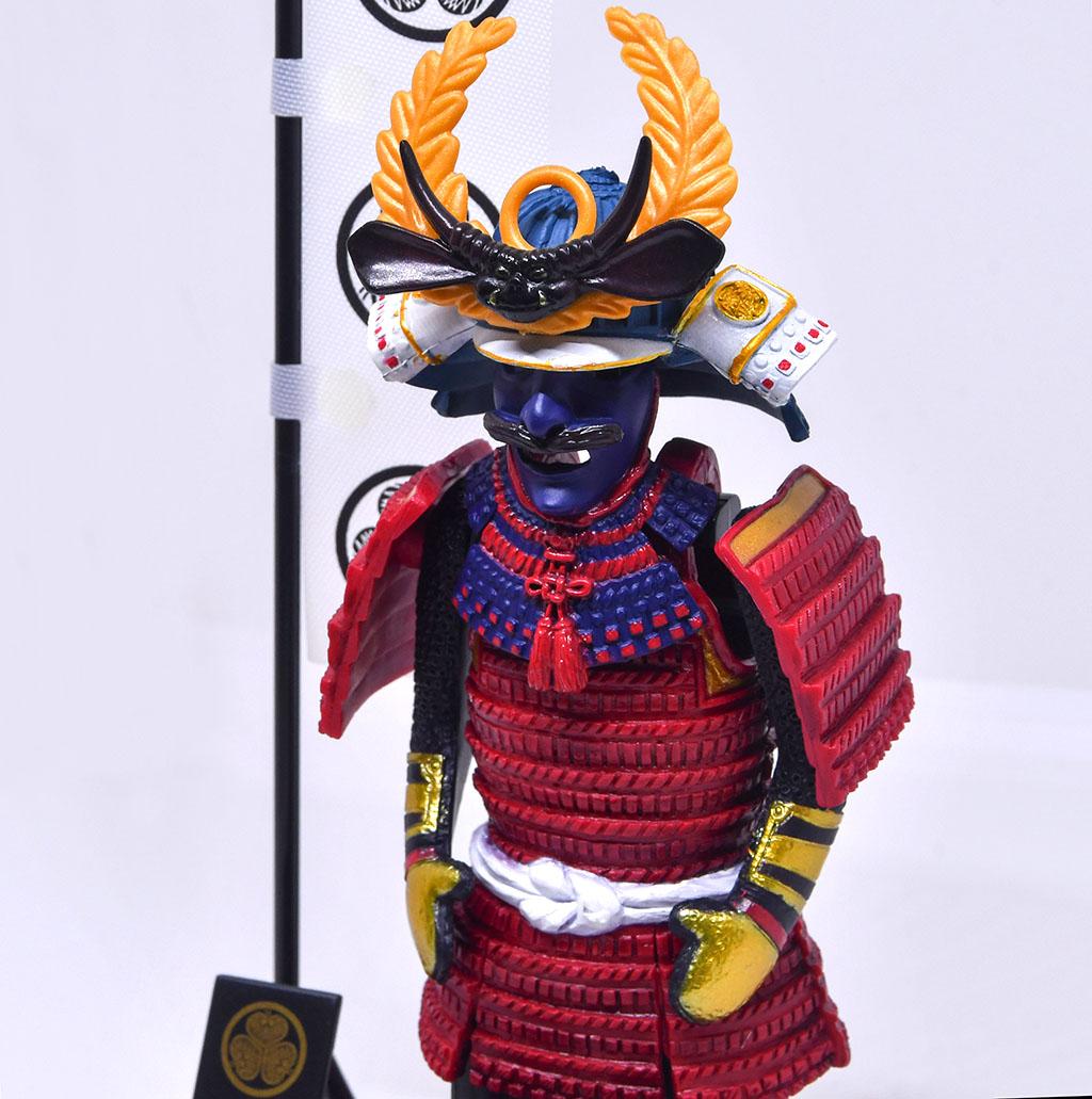 Japanese armor model